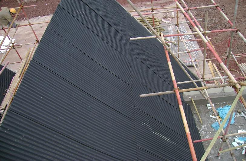 屋面波纹板