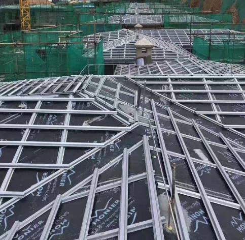 金属挂瓦条施工工艺